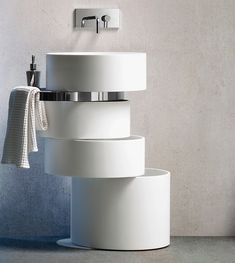 Swiveling Rings Hiding Function and a Creative Concept: Orbit Sink  - http://freshome.com/2014/11/27/swiveling-rings-hiding-function-and-a-creative-concept-orbit-sink/