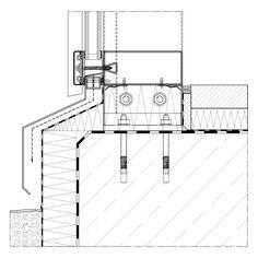 Bildergebnis F 252 R Pfosten Riegel Fassade Sturzdetail