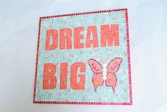 Mosaic Wall Art  Dream Big by GreenStreetMosaics on Etsy, $200.00