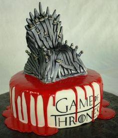 Game of Thrones cake / El pastel de Juego de Tronos  Vía: ajsmoonlightbakery    #cake #pastel #tarta #sweet #dulce #juegodetronos #gameofthrones