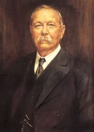 Arthur Conan Doyle (1859-1930) was a Scottish physician and writer, most noted for his stories about the detective Sherlock Holmes, generally considered a milestone in the field of crime fiction, and for the adventures of Professor Challenger. He was a prolific writer whose other works include science fiction stories, plays, romances, poetry, non-fiction and historical novels.