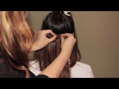 How to: Blend Short Hair with Extensions (Feat. Bellami Hair) - YouTube