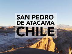 Blog post about San Pedro De Atacama