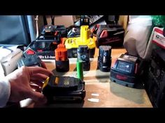 DIY Charge any cordless tool/drill battery without a charger using Turnigy balance charger - YouTube