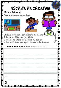 Spanish Class, Kids Education, Handwriting, Acting, Kindergarten, Homeschool, Language, Classroom, Student