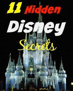 11 Hidden Disney Secrets