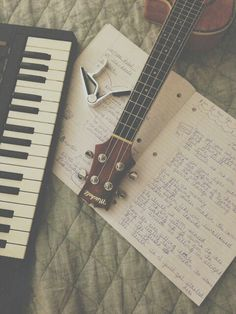 Write, writing, writing music.... <3