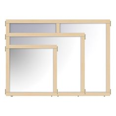 "1510JCEMR KYDZ Suite¨ Panel - E-Height - 24"" Wide - Mirror"