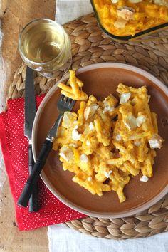 Mac' & cheese au potimarron et chèvre, le plat confort food tout-en-un