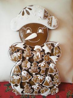 Christmas Calendar, Gingerbread Cookies, Food, Xmas, Advent Calenders, Gingerbread Cupcakes, Essen, Meals, Yemek