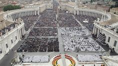 John XXIII, John Paul II counted among the saints