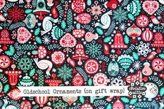 Gift wrap image of http://www.spoonflower.com/designs/2757859