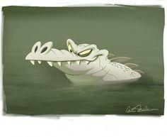 #crocodile #alligator #procreateart #illustration #cartoon #animation #characterdesign #characterdesigner