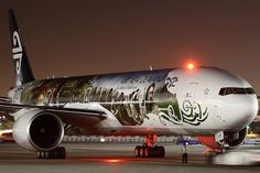 Air New Zealand Hobbit plane (Boeing 777-300 ER) by Brandon Farris Photography