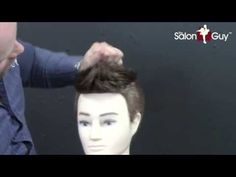 Haircut Tutorial - Men's Undercut - Adam Levine - David Beckham - Brad Pitt - YouTube