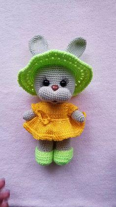 Minnie Big Head Doll Anigurumi 15 Tall M - Diy Crafts - maallure Crochet Amigurumi, Crochet Doll Pattern, Crochet Toys Patterns, Amigurumi Toys, Amigurumi Patterns, Stuffed Toys Patterns, Crochet Dolls, Doll Patterns, Crochet Hats