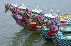 Holidays:The Chinese have many different holidays that other countries don't have. Like the Dragon Boat Festival. This is where people go on a boat that looks like a dragon and race against other people Macau Travel, China Travel, Dragon Boat Festival, Bamboo Leaves, Festivals Around The World, Chinese Dragon, Ancient China, Chinese Culture, Art Festival