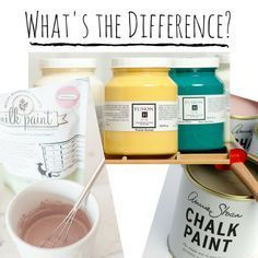 Milk Paint, Chalk Paint, Fusion Paint - What's the Difference?