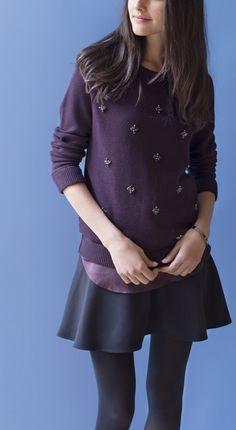 Purple hues from LOFT.
