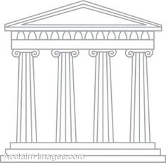 Roman/Greek Temple | Architecture, Columns and Icons