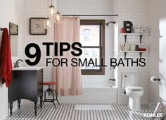 Explore this room.    If you're stuck with a small bathroom, don't despair. You can increase the physical space – and the perception of space – without a major remodel.       Read More