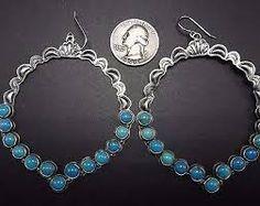Image result for vintage navajo earrings