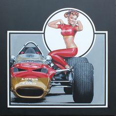 Lotus Motor art