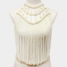 Nowadays, the craze of body jewelry is on its heights. It has never been so popular but latest trends have really increased the sale of this funky jewelry Gold Body Jewellery, Body Chain Jewelry, Jewelry Art, Beaded Jewelry, Jewlery, Pearl Choker Necklace, Necklace Chain, Necklaces, Gifts For Her