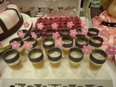 Candy in a cup! Doll's house party themed!