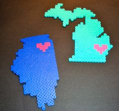 State Magnets for Lovers! Come check out my Etsy shop! $3.99