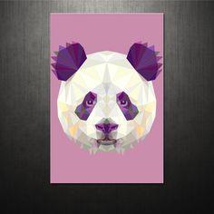 Poster Triangle Panda | QCola