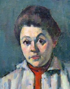 Alexej von Jawlensky - Helene in red waistcoat [1907] | Flickr - Photo Sharing!