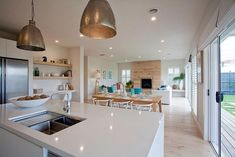 Incredible open plan kitchen living room design - Home - Kitchen Diner Lounge, Open Plan Kitchen Dining Living, Living Room And Kitchen Design, Open Plan Kitchen Diner, Kitchen Diner Extension, Open Concept Kitchen, Open Plan Living, Small Living Rooms, Open Plan House