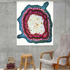Naturalis Unlimited - Stem cross section I doek Kids Rugs, Tapestry, Home Decor, Design, Products, Exotic, Hanging Tapestry, Tapestries, Decoration Home