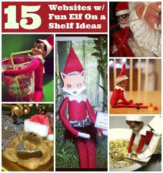Looking for new ideas for your elf on a shelf? Here are some of our favorites! Christmas Gift Guide, Christmas Elf, Christmas Crafts, Christmas Decorations, Holiday Decor, Christmas Stuff, Holiday Ideas, Christmas Ideas, Xmas