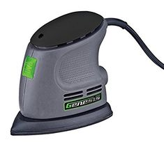 Genesis GPS080 Corner Palm Sander, Grey - Power Sheet Sanders - Amazon.com