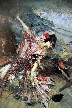Danzatrice spagnola, Giovanni Boldini, 1900