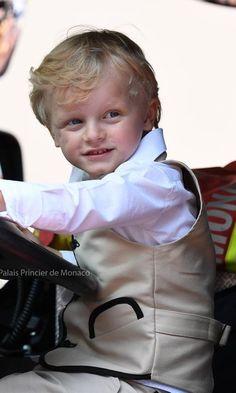 Prince Jacques, 23 juin 2018, Rencontre des Sites Historiques Grimaldi, Monaco