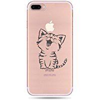 Incendemme Coque Housse / Etui Téléphone en Silicone Souple Cute Serie de Chat Transparent pour iPhone 6/6s/6 plus/ 6s plus