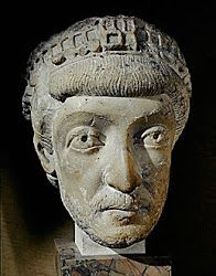 Theodosius II - Emperor 408 to 450. Known for the Theodosian law code, and the construction of the Theodosian Walls of Constantinople. When Roman Africa fell to the Vandals in 439, both Eastern and Western Emperors sent forces to Sicily, to launch an attack at the Vandals at Carthage, but this project failed.