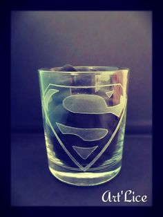"Verre ""Superman"""