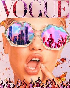 'VOGUE reflections ' Poster by byoungcollages - - Millions of unique designs by independent artists. Collage Mural, Bedroom Wall Collage, Photo Wall Collage, Wall Art Collages, Picture Collage Board, Poster Collage, Wall Collage Decor, Room Posters, Poster Wall