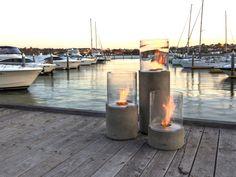 Cheminée sur pied au bioéthanol LIGHTHOUSE SERIES by EcoSmart Fire