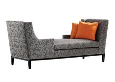 Jessica Charles - Collin Tete-a-tete - A conversation starter, the Collin Tete-a-tete displays elegant, clean lines and all-over damask print fabric. Showroom: 200 Steele St. 3rd Floor #hpmkt