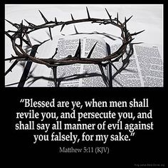 Inspirational Image for Matthew 5:11