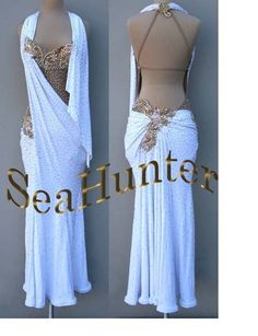 Competition Ballroom Samba ChaCha Ramba Latin Dance Dress US 6 UK 8 | eBay