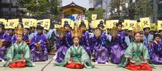 Hakata Dontaku Festival in Fukuoka.