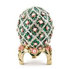 Rose Trellis Russian Imperial Faberge Egg