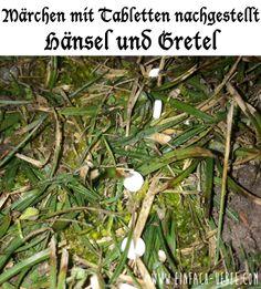 Märchen mit Tabletten nachgestellt: Hänsel & Gretel  http://www.einfach-uebel.com/maerchen-mit-tabletten-nachgestellt-teil-4/