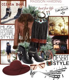 """""""Music Festival Style With Lust for Life x Madison Harding"""" by designsbytraci on Polyvore"""